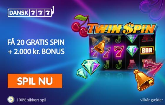 Bonus hos Dansk 777