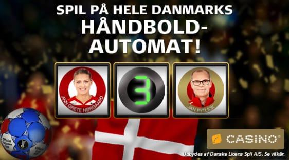 Håndboldautomaten - Danske spilleautomat