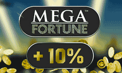 10% on top of the 5 million Jackpot