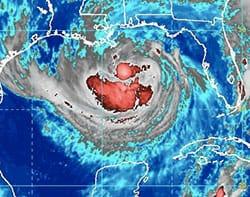 Den seneste uge været hårdt ramt af orkanen isaac som er blevet