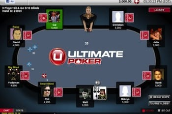 Ultimate Poker har dealet første lovlige pokerhånd i USA