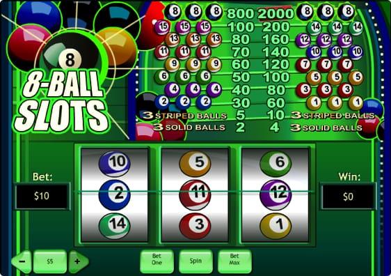 8-Ball Slots spillemaskine