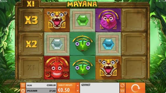 Mayana Spilleautomat fra QuickSpin