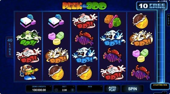 Peek-a-Boo spillemaskine