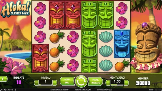 Aloha Cluster Pays spillemaskine
