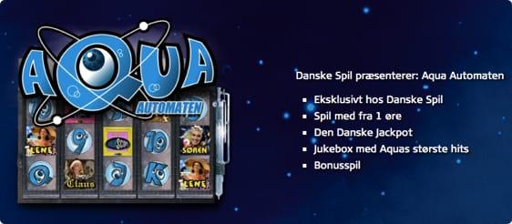 AQUA Spillemaskine fra Danske Spil