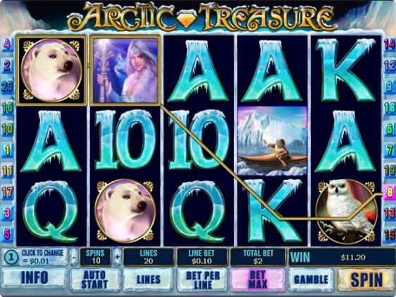 Arctic Treasure spillemaskine