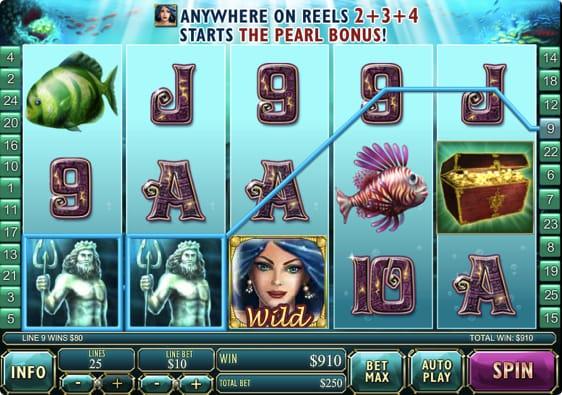 Atlantis Queen spillemaskine