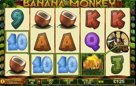 Banana Monkey spillemaskine