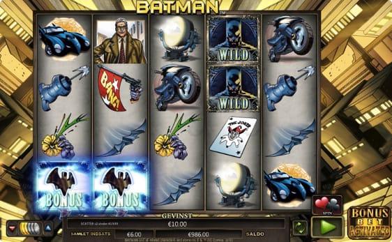 Batman spillemaskine fra NextGen Gaming