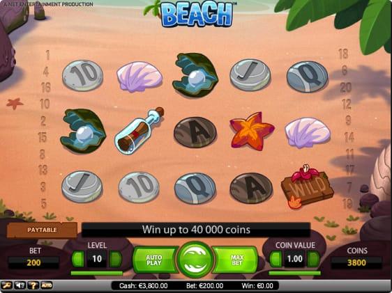 Beach Spillemaskine