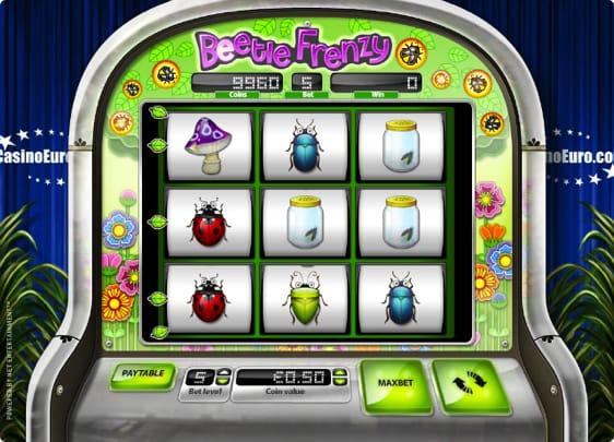 Beetle Frenzy Spillemaskine