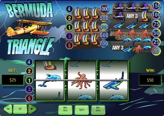 Bermuda Triangle spillemaskine