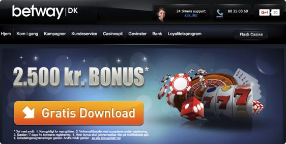 Start med en stor casino bonus