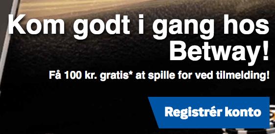 Få 100 kr. gratis
