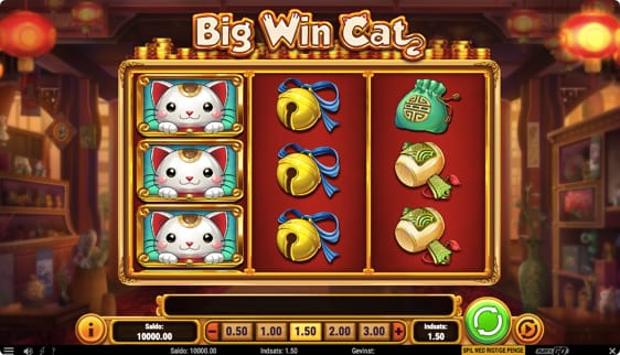 Big Win Cat spillemaskine med respin of luck