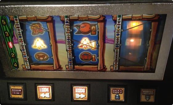 Spillemaskine på Bornholmerfærgen