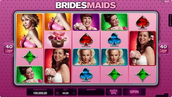 Bridesmaids spillemaskine