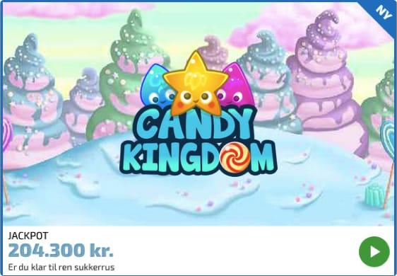 Prøv Candy Kingdom Spilleautomaten hos Spilnu.dk
