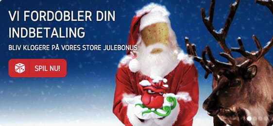 Hold jul med 55 free spins og 100 kr gratis