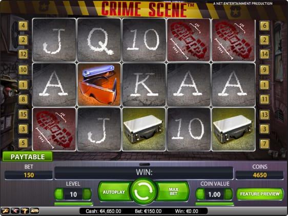 Crime Scene Spillemaskine