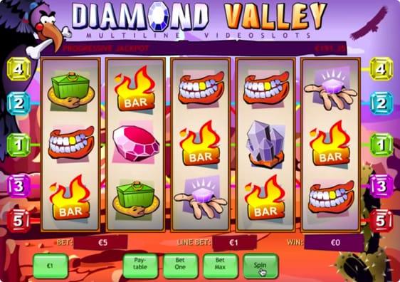 Diamond Valley spillemaskine