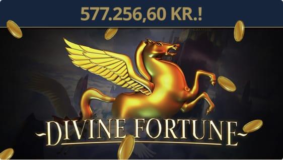 Kvinde fra Hundested vandt jackpot på Divine Fortune automaten