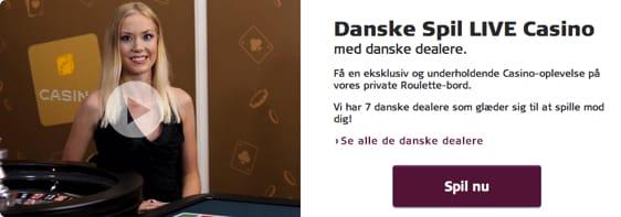 Danske live dealere