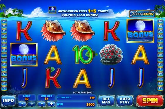 Dolphin Cash spillemaskine