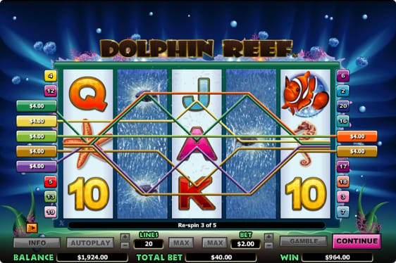 Dolphin Reef spilleautomat