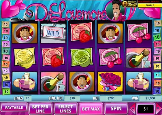 Dr Lovemore spillemaskine