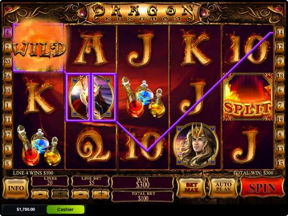 Dragon Kingdom spillemaskine