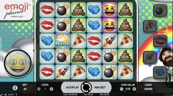 emoji Planet spillemaskine