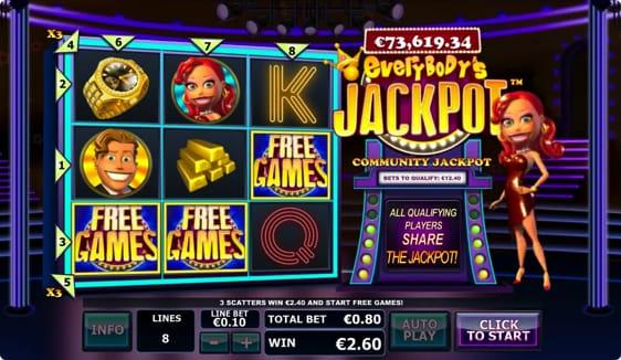 Everybody's Jackpot spileautomat