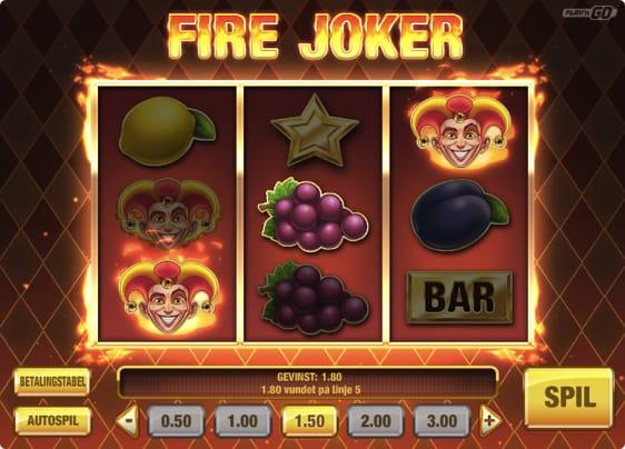 Fire Joker Spillemaskine