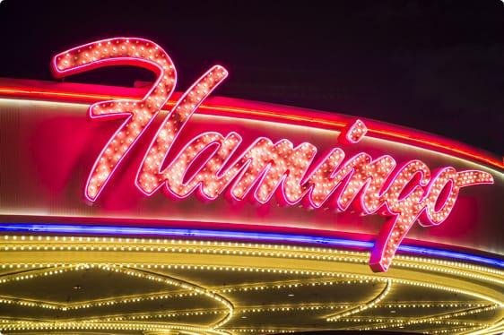 Wheel of Fortune, Flamingo Casino