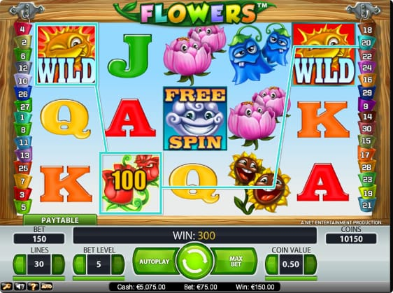 Flowers Automaten