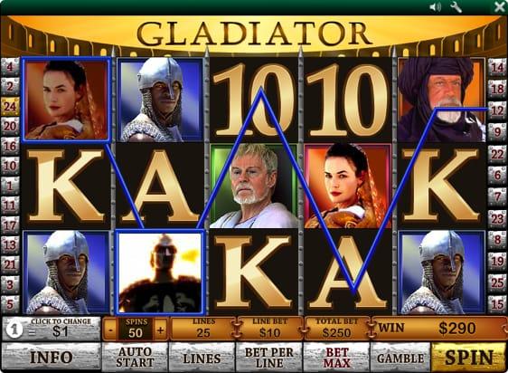 Gladiator spillemaskine