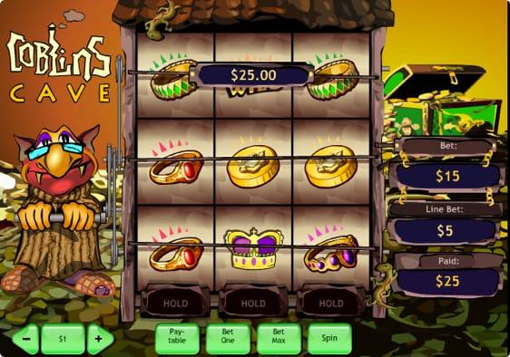 Goblin's Cave spillemaskine