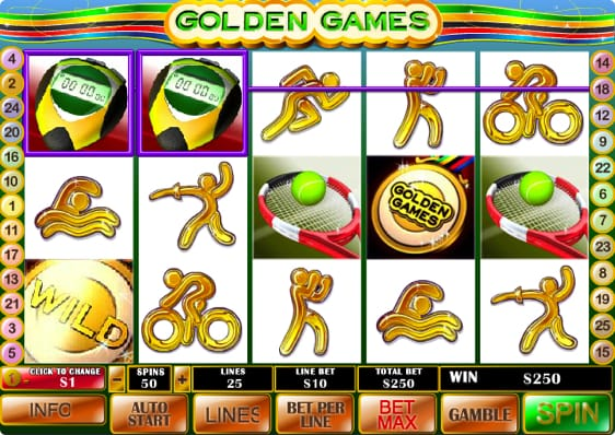 Golden Games Spillemaskine