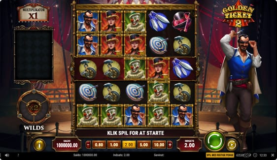 Golden Ticket 2 free spins