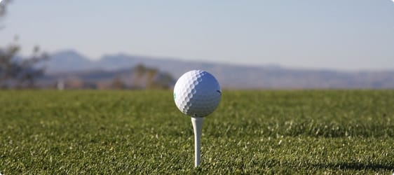 Odds på Golf og scor kassen
