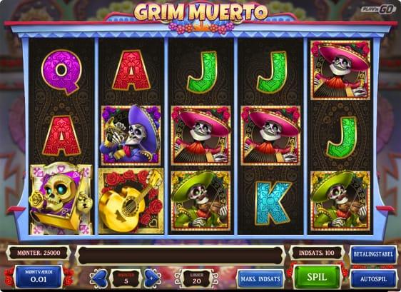 Grim Muerto spillemaskine