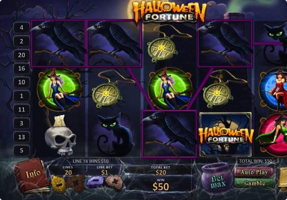 Halloween Fortune spillemaskine