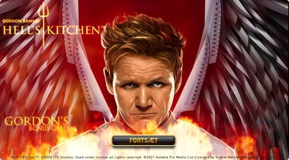 Hells Kitchen med free spins