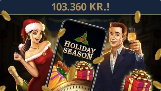 Holiday Season spillemaskine udløste flot gevinst