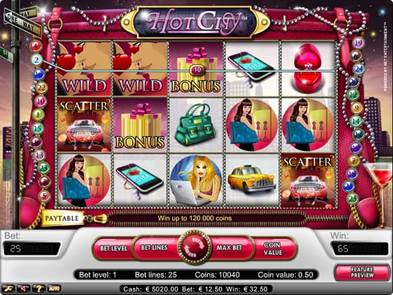 Hot City Spillemaskine