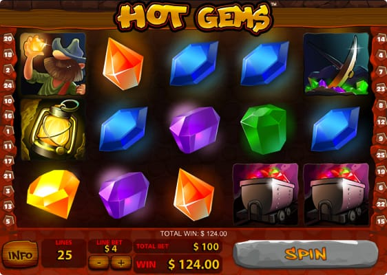 Hot Gems spillemaskine
