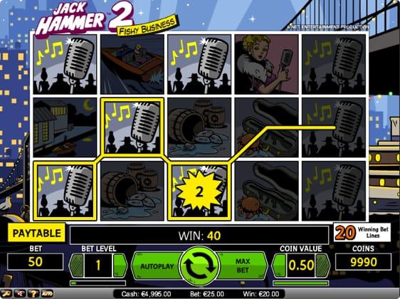 Jack Hammer 2 Spillemaskine