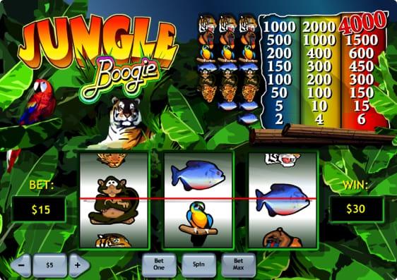 Jungle Boogie Spillemaskine